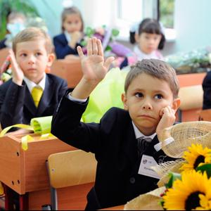 Школы Крапивной